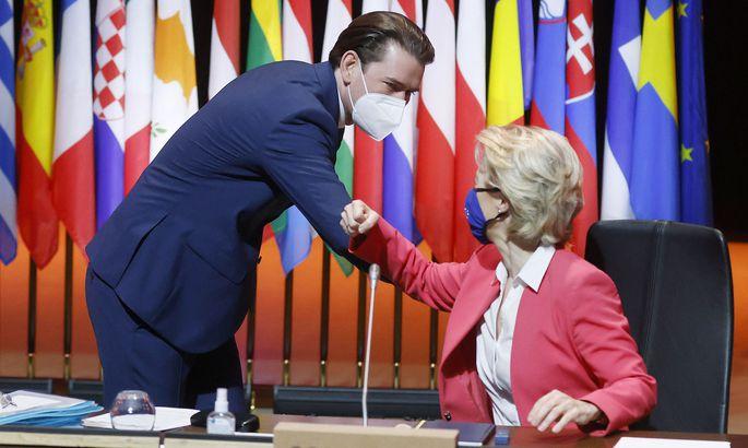 Kanzler Sebastian Kurz hat Besuch von EU-Kommissionspräsidentin Ursula von der Leyen