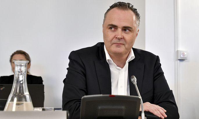 Auskunftsperson im Jet-U-Ausschuss: Ex-Verteidigungsminister Hans Peter Doskozil (SPÖ)
