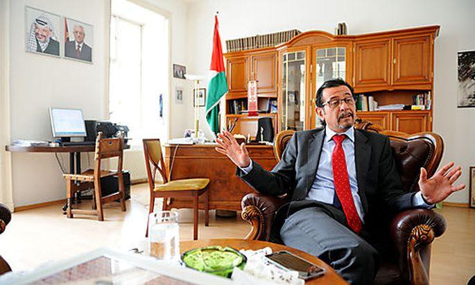 Der Botschafter Palästinas in Wien, Salah Abdel Shafi
