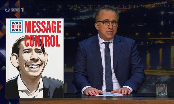 """Oft thematisiert, auch gestern ausführlich bei """"Gute Nacht Österreich"""": Die Medienarbeit der ÖVP."""