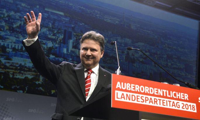 Seit Samstag ist Michael Ludwig Chef der Wiener SPÖ, ab Mai folgt er dann Michael Häupl auch als Bürgermeister