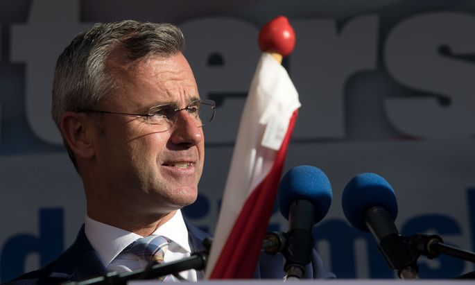Ex-Verkehrsminister Norbert Hofer.