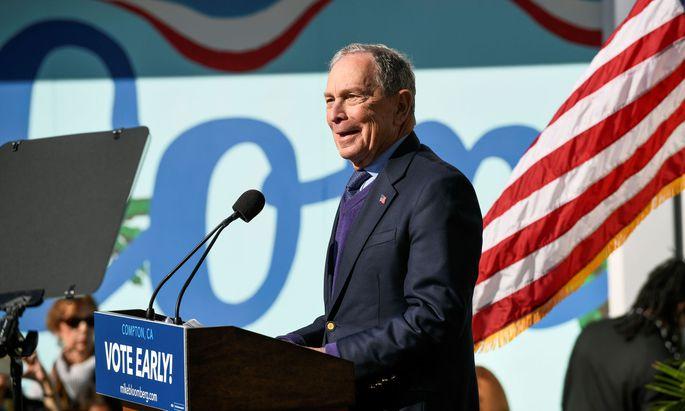 Michael Bloomberg, der abwesende Sieger.
