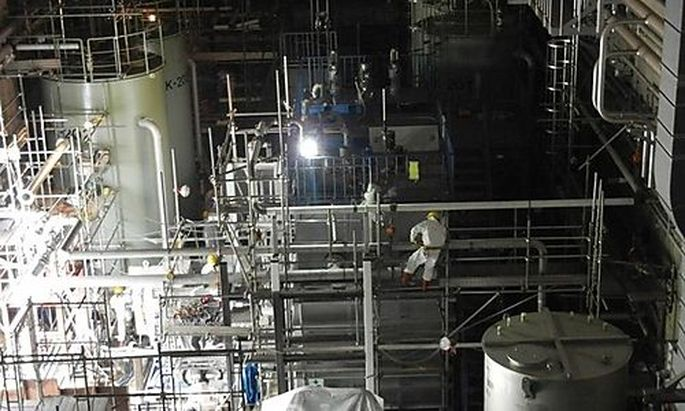 Fukushima Kernschmelze Japan