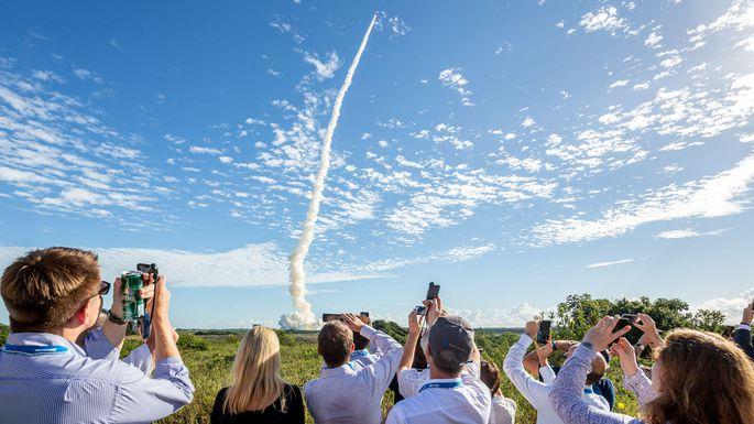 Am 25. Juli 2018 brachte eine Rakete vier weitere Galileo-Satelliten ins Weltall.