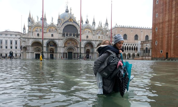 Italiens Regierung hat Venedig 20 Millionen Euro Soforthilfe zugesprochen