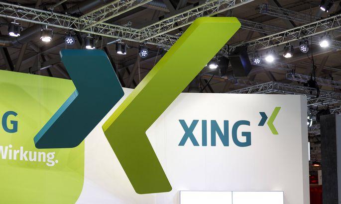 Logo der Firma Xing SE *** Logo of the company Xing SE Foto xC xHardtx xFuturexImage
