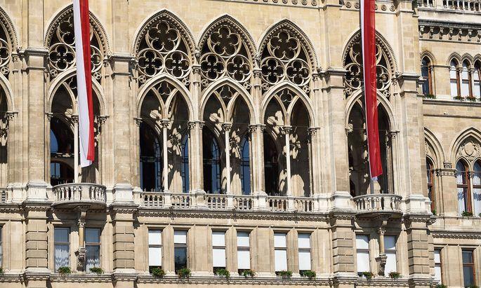 Das Wiener Rathaus als Arbeitsplatz - das war einmal, mittlerweile ist Werner K. seinen Job los.