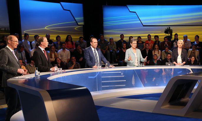 ORF-Diskussion der Spitzenkandidaten zur EU-Wahl´ 2014 (Elefantenrunde)