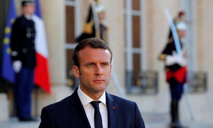 Emmanuel Macron, der Machiavellist mit Diplom.