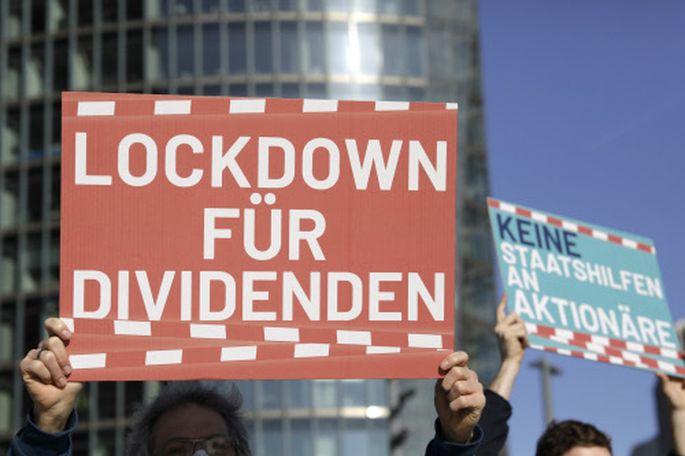 Im Vorjahr demonstrierten Aktivisten noch gegen Dividenden. Inzwischen sind Ausschüttungen nicht mehr verpönt.