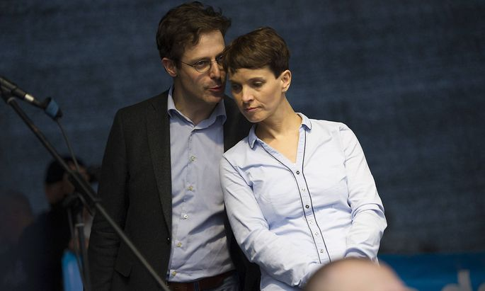 Frauke Petry und Marcus Pretzell gelten als Parade-Paar des nationalkonservativen Flügels der AfD.