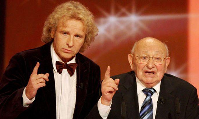 Thomas Gottschalk und Marcel Reich-Ranicki