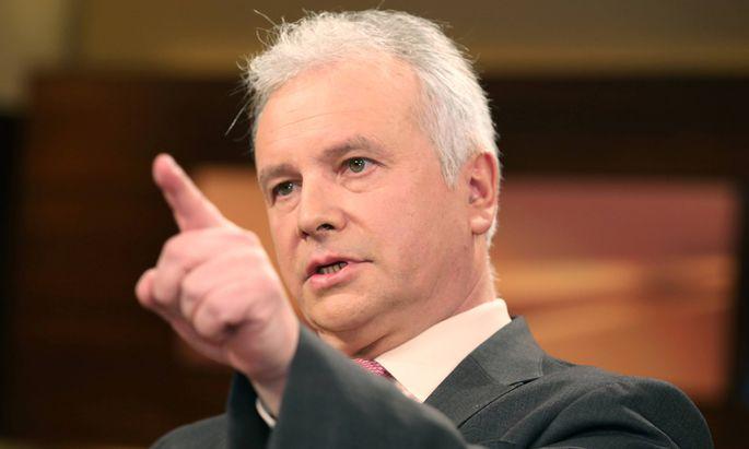Alexander Rahr Russland Experte in der ARD Talkshow ANNE WILL am 05 03 2014 in Berlin