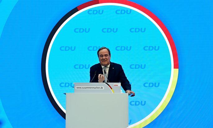 Armin Laschet wird Kanzlerkandidat der Union.