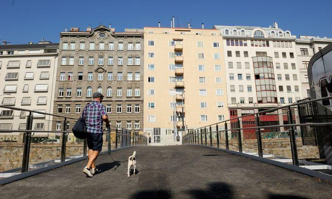 Wer mitten in Wien wohnen will, muss tief in die Tasche greifen.