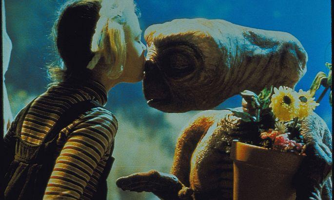 E.T, ein Filmklassiker von Steven Spielberg.
