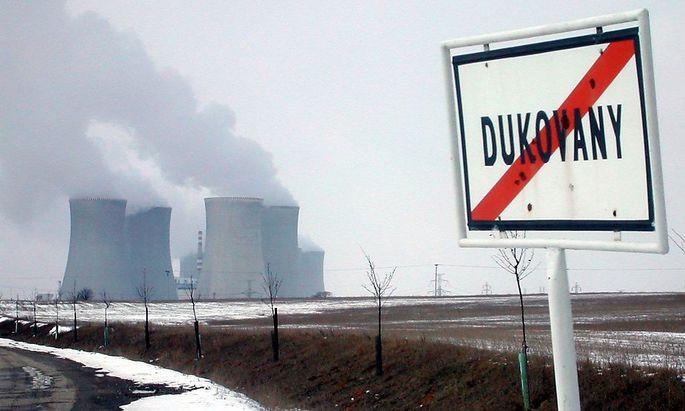 Zu den vier Reaktoren könnten weitere in Dukovany dazukommen.