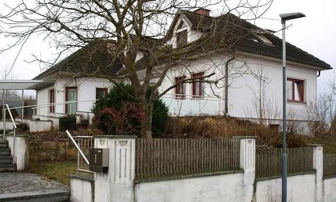 Das betroffene Haus in Schweiggers.