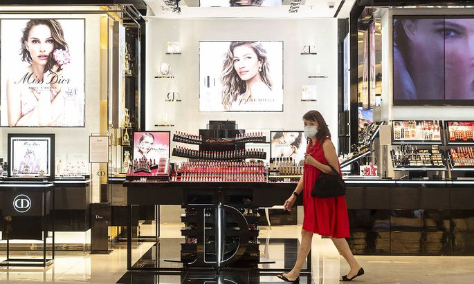 May 29, 2020, Hong Kong, China: French Christian Dior luxury goods, clothing and beauty products store seen in Hong Kon