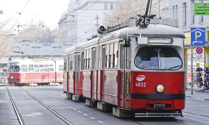 21 E1 sind in Wien noch im Einsatz.