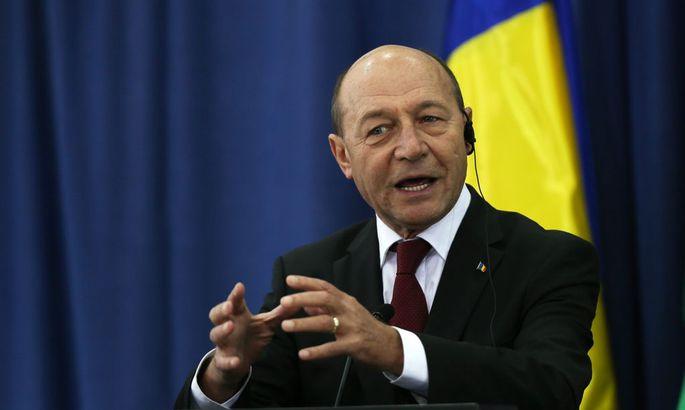 Der rumänische Präsident Traian Basescu