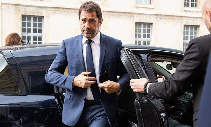 Frankreichs Innenminister Christophe Castaner (Archivbild) berichtet von vier Festnahmen.