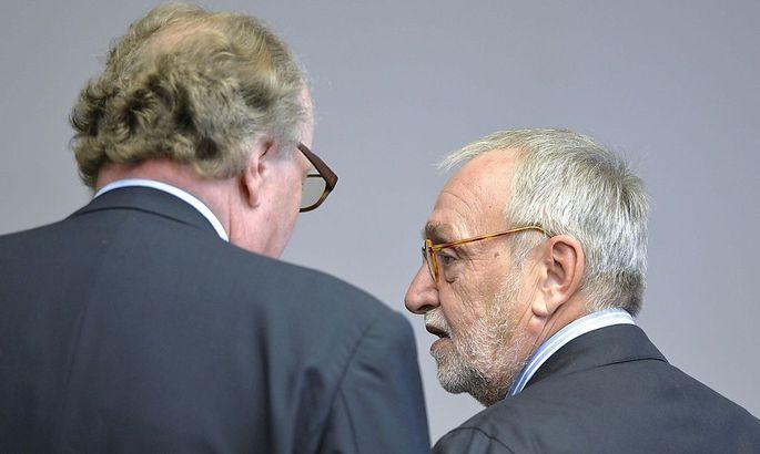 Lobbyist Alfons Mensdorff-Pouilly und der ehemalige Telekom Austria-Vorstand Rudolf Fischer