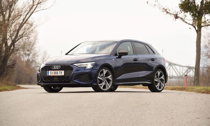 Konventionell, doch stilistisch interessant: Neuer Audi A3 in S-Line-Trimm, hier mit 150-PS-Benziner. Imposant ist die lange Aufpreisliste.