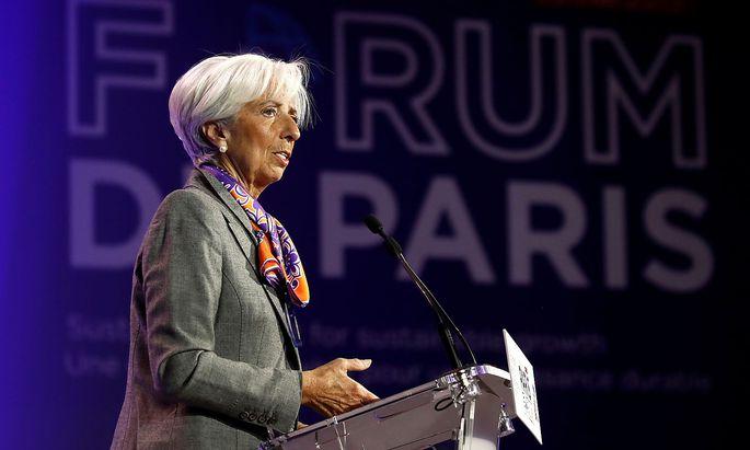 Christine Lagarde, IWF-Chefin