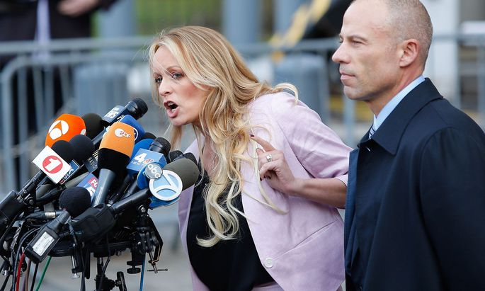 Stephanie Clifford wehrt sich gegen die Lügen-Vorwürfe von US-Präsident Trump.