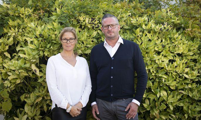 Tanja Cerny und Dennis Felsinger.