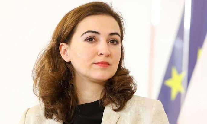 Alma Zadić äußerte sich in Videobotschaft.