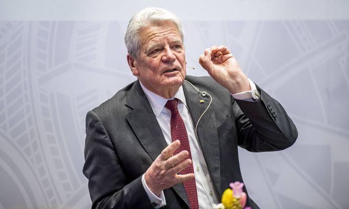 Der ehemalige deutsche Bundespräsident Joachim Gauck