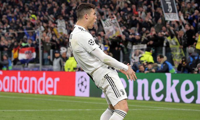 March 12 2019 Turin Turin Italy TURIN ITALY MARCH 12 Cristiano Ronaldo 7 of Juventus FC