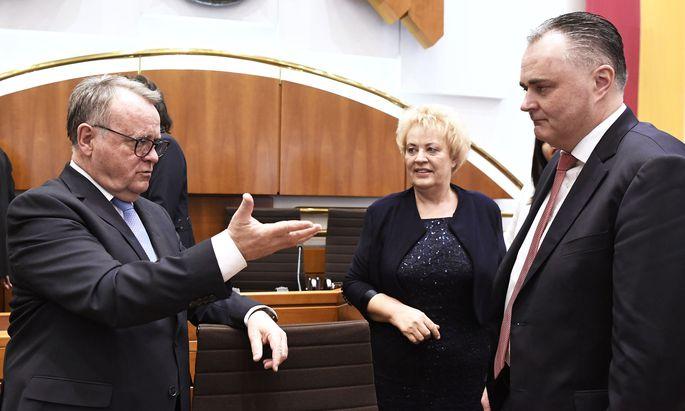 Doskozil mit 20 von 33 Stimmen zum burgenländischen Landeshauptmann gewählt