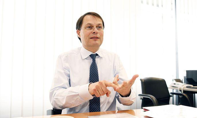 Spar-Chef Gerhard Drexel auf einem Archivbild aus 2013.
