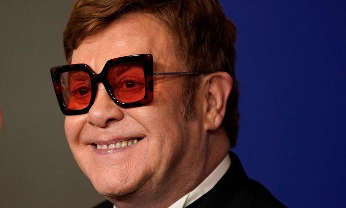 Auch Sänger Elton John - hier bei den Golden Globes - kündigt eine Großsspende an.