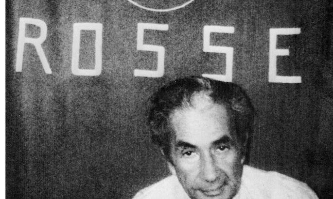Eingesperrt in einer anonymen Hochhauswohnung am anderen Ende Roms: Aldo Moro.