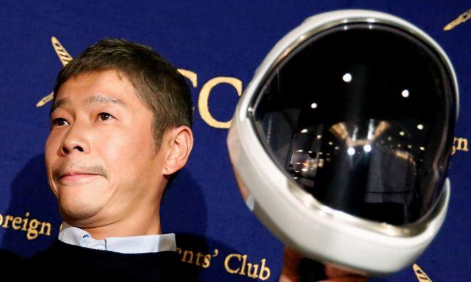 Milliardär Maezawa will zum Mond fliegen