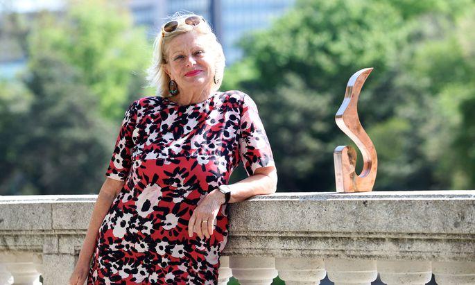 Wanda Moser-Heindl ist Psychotherapeutin, Erbin und Stifterin eines Preises für soziale Innovation, der Sozialmarie.