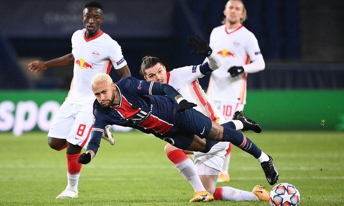 Marcel Sabitzer gegen Neymar