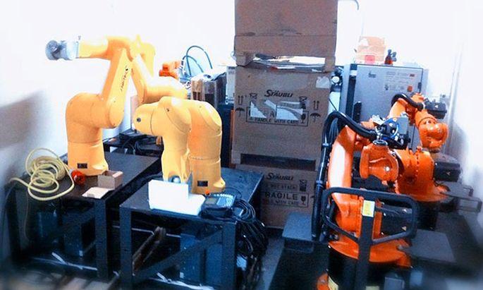 Roboter Kreativszene