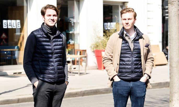 Tobias Leodolter und Lukas Müller haben die Crowdinvesting-Plattform Rendity gegründet.