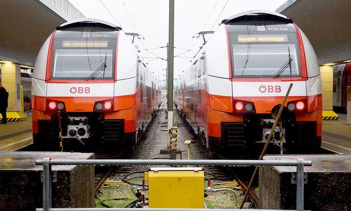 Sechs neue Cityjets der ÖBB werden nach Deutschland vermietet.