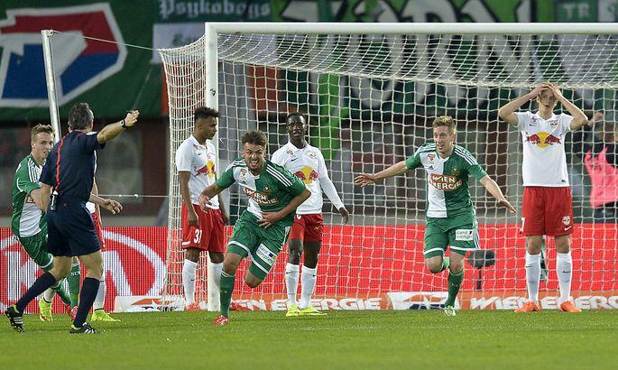 FUSSBALL TIPICO BUNDESLIGA: SK RAPID WIEN - RED BULL SALZBURG