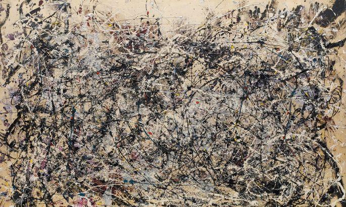 """""""Mit dem Beiseitestehen ist es seit der Neuzeit vorbei"""": Unsere heutige Unruhe hat alte Wurzeln. (Bild: Jackson Pollock, Number 1A, 1948.)"""