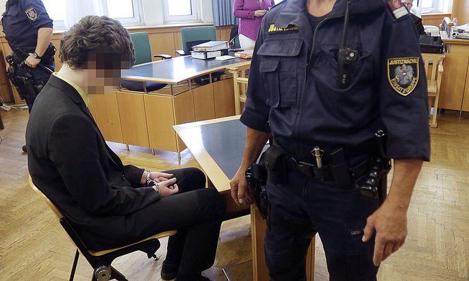 Archivbild: Josef S. im vergangenen Jahr vor Gericht.