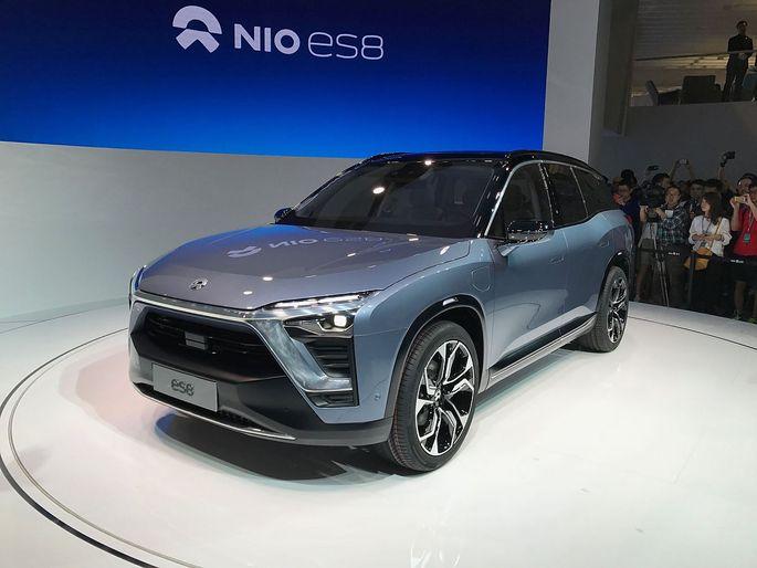 Der Nio ES8 soll ab Mitte des Jahres erhältlich sein. Preis des siebensitzigen E-Autos: Weniger als 60.000 Euro.