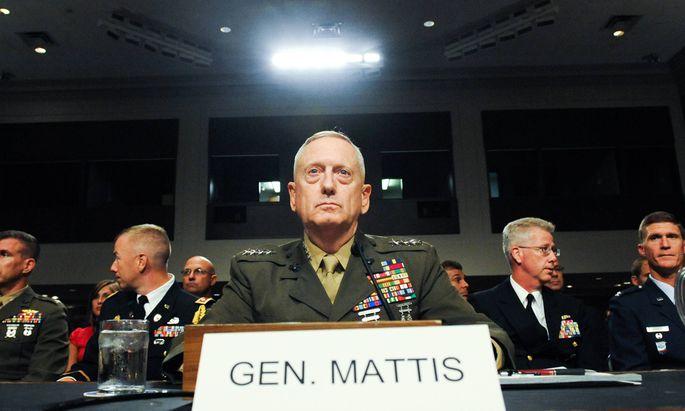 Für Verteidigungsminister James Mattis geht die Amtszeit in zwei Monaten zu Ende. Der angesehene Ex-General will die Politik Trumps nicht mehr mittragen.